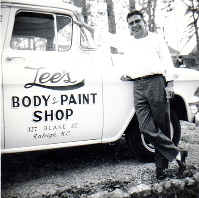 Lee's Body & Paint Shop William L. Lee 1959